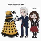 twelve and the dalek by Shercockies