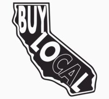Buy local California black print by BuyLocal