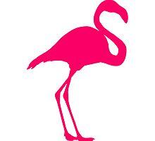 Flamingo Bird by Style-O-Mat