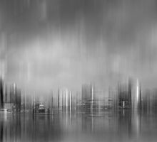 Docklands, Melbourne - Abstract by Julie Begg