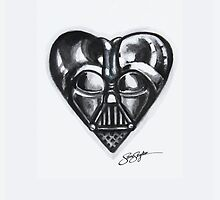 Darth Vader Star Wars Heart  by samskyler