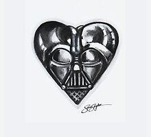 Darth Vader Star Wars Heart  by samskyler