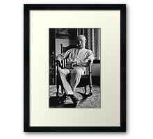 WYATT EARP  1923 Framed Print