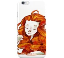 Redhair muse iPhone Case/Skin