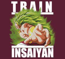 Train insaiyan - Broly super saiyan 3 by Ali Gokalp