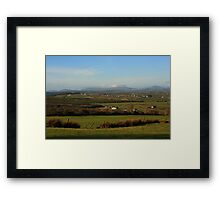 The Bluestacks From Fearn Hill Framed Print