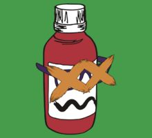 Cody the Codeine Bottle by tumblingtshirts