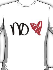 No Love - Black T-Shirt