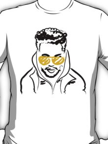 Drawing of The Weeknd T-Shirt