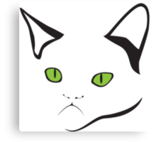 Grumpy Cat Is Grumpy Canvas Print