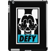 Mickey Says DEFY - Inverted iPad Case/Skin