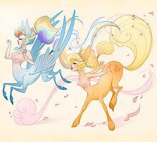 Pony Centaurs by Sakuranym