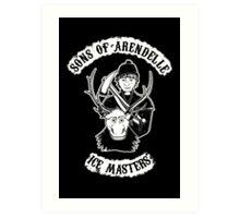 Sons of Arendelle Art Print