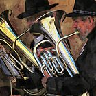 The brass band by Alan Mattison