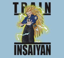Train Insaiyan Super Saiyan 3 Trunks  by BadrHoussni