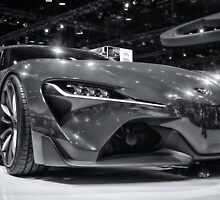 Toyota FT-1 Concept by yellocoyote