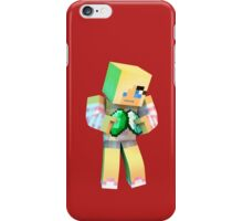 Minecrafter - Diamond or Emerald iPhone Case/Skin