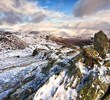 Frozen Easdale Valley by towerphotos