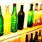 Wine Cellar Bottles- Unique Photography by Vincent J. Newman