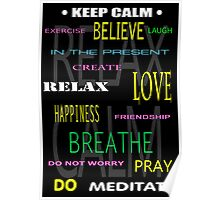 KEEP CALM DIY THERAPY PANEL Poster