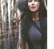 Katniss Everdeen The Hunger Games  by Itzel Aristide