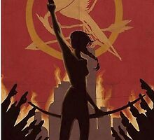 Katniss Everdeen The Mockingjay by Itzel Aristide
