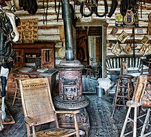 FRONTIER SADDLERY SHOP of the OLD WEST by Daniel-Hagerman