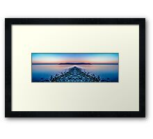Sunset Way Framed Print