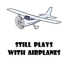 Plays With Airplanes by AmazingMart