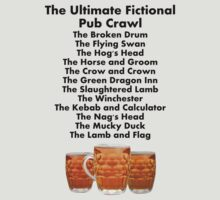 The Ultimate Fictional Pub Crawl by Towerjunkie