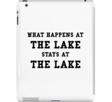 Happens At Lake iPad Case/Skin