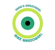 Monsters Inc. - Mike Waszowski (Minimal - Iphone - White) by thefrayedfiles
