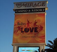The Mirage Casino in Las Vegas by CadburyKeepsake