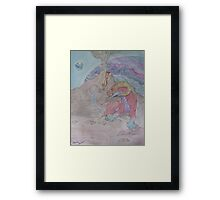 Other world Framed Print