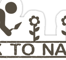 Back to Nature Sticker