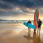 One Mile Beach - Nelson Bay, Australia by Kath Salier
