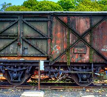 Railway Carriage by English Landscape Prints