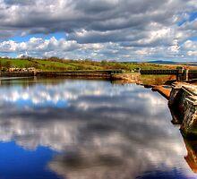 Hury Reservoir - County Durham by English Landscape Prints