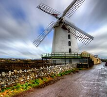 Blennerville Windmill by English Landscape Prints