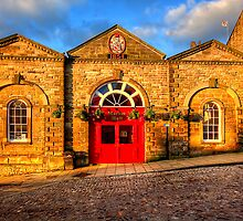 Richmond Market Hall by English Landscape Prints