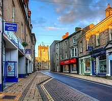 King Street, Richmond, North Yorkshire by English Landscape Prints