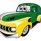 Cartoon Van GY by Graphxpro