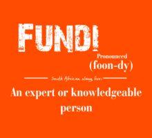 fundi South African slang for an expert by DesignGuru