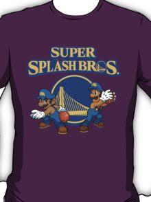 Super Splash Brothers - Steph Curry Klay Thompson Shirt T-Shirt