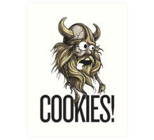 Cookies! - Viking Art Print