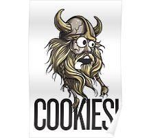 Cookies! - Viking Poster