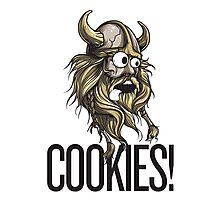 Cookies! - Viking Photographic Print