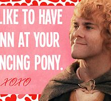 Lord of the Rings Valentines by MarioGirl64