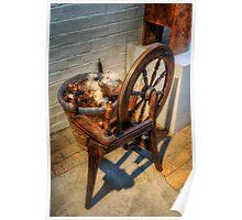 Spinning Wheel Poster