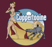 Coppertooine - Slave Leia by Todd Robinson